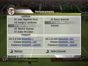 Test Rugby Challenge 2006 PC - Screenshot 37