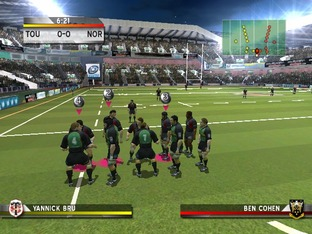 Test Rugby Challenge 2006 PC - Screenshot 38