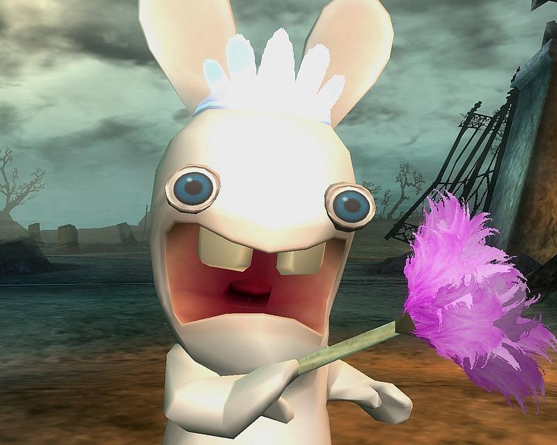 Images Rayman Contre Les Lapins Cretins PC