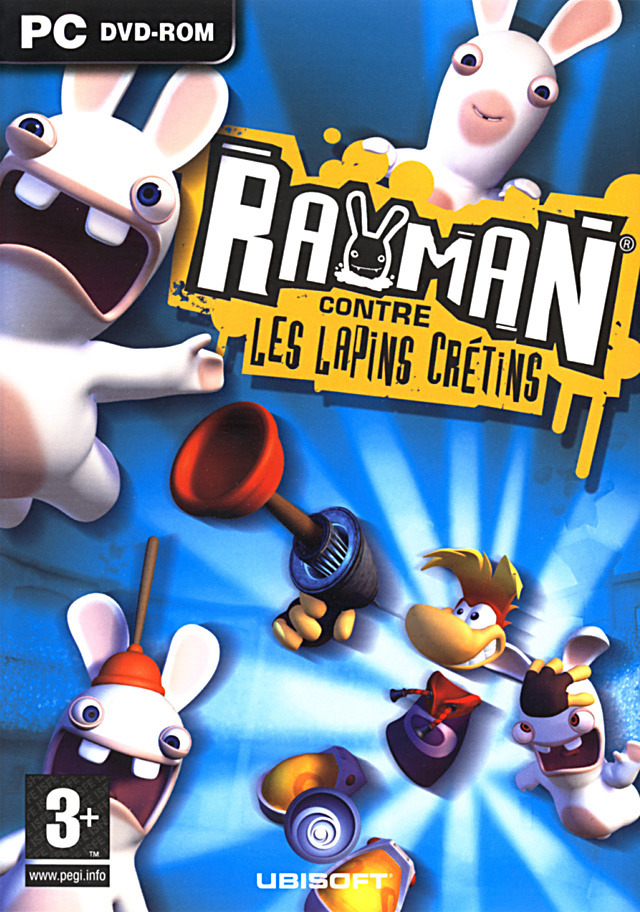 rayman contre les lapins cr tins sur pc. Black Bedroom Furniture Sets. Home Design Ideas