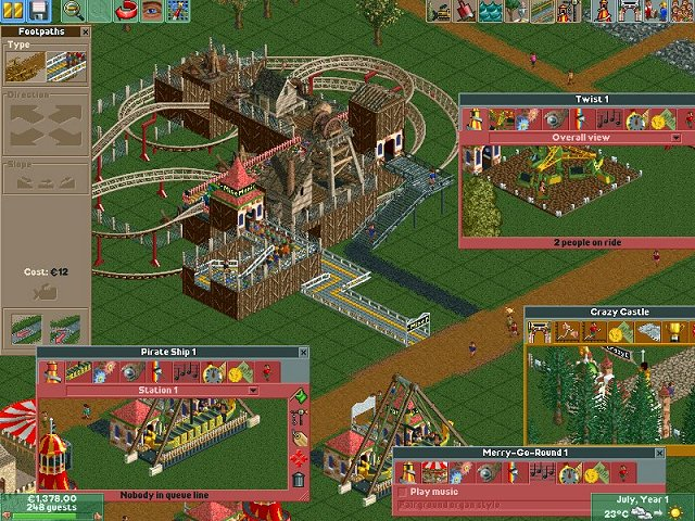 how to download roller coaster tycoon 2