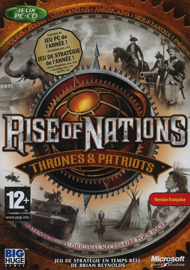 Rise of Nations +Thrones And Patriots Expansion pack preview 2