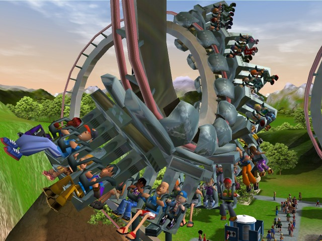 roc3pc012 Roller Coaster Tycoon 3