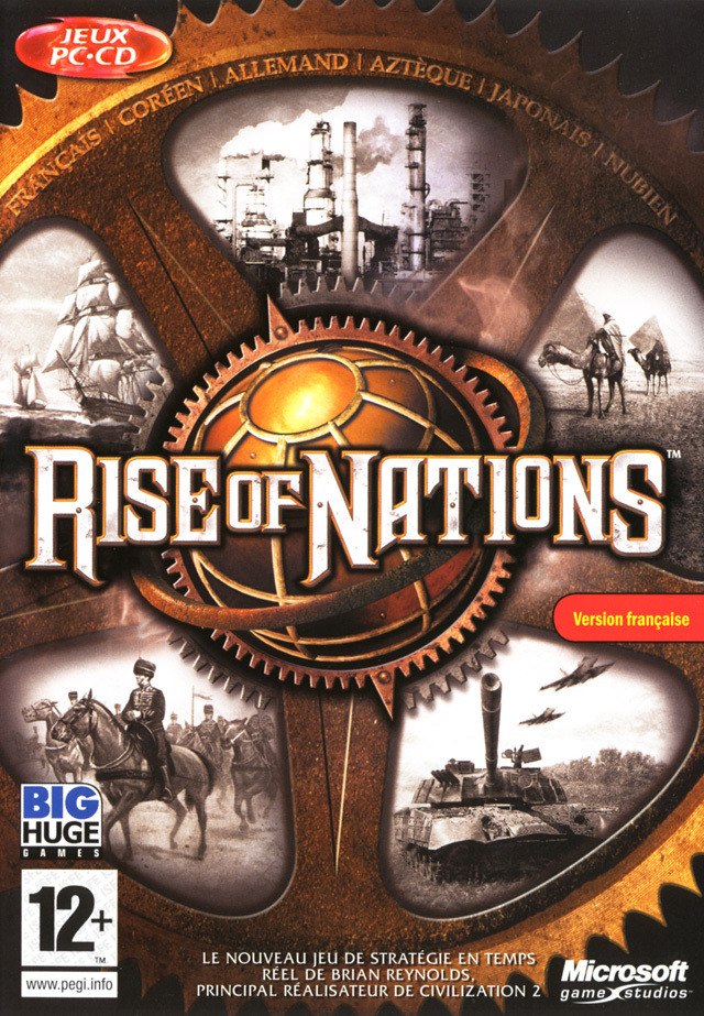 Rise of Nations +Thrones And Patriots Expansion pack preview 0
