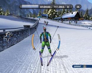 Test RTL Biathlon 2009 PC - Screenshot 1