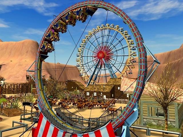 Screens Zimmer 7 angezeig: roller coaster tycoon 3 trainer
