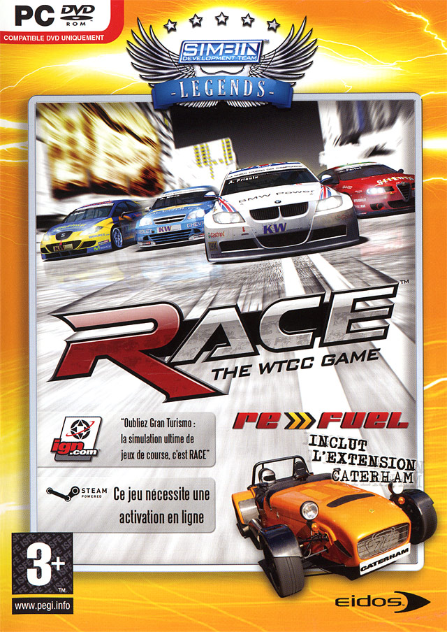 RACE - The WTCC Game Caterham Expansion.