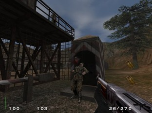 Test Return To Castle Wolfenstein PC - Screenshot 7