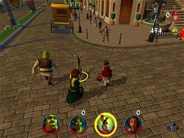 Shrek 2 : Equipe de Choc
