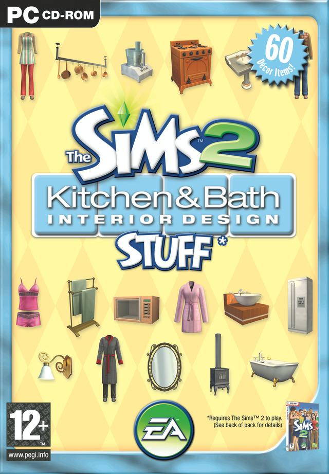 Les sims 2 kit cuisine et salle de bain design sur pc for Kit salle de bain design