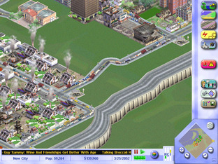 Test Sim City 3000 PC - Screenshot 2