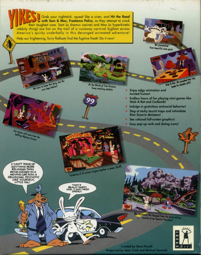 Images Sam & Max Hit the Road PC - 2