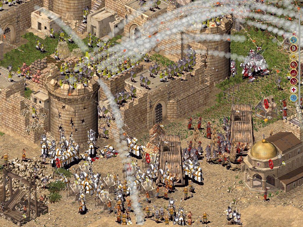 لعبة الحروب الصليبية الممتعة Stronghold