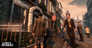 Aperçu Sherlock Holmes : Crimes and Punishments - GC 2013 PC - Screensho