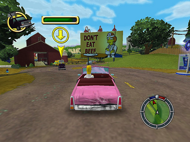 حصريااااااا تحميل لعبة The Simpsons Hit & Run مضغوطة بحجم 179 ميجا