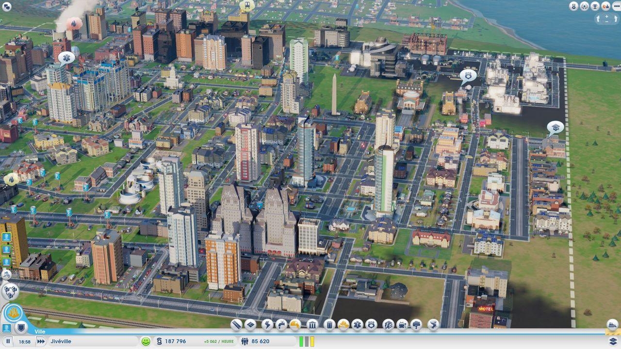 Plus Grosse Ville Sim City