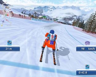 Les pistes de Ski Challenge sont les tracés officiels.