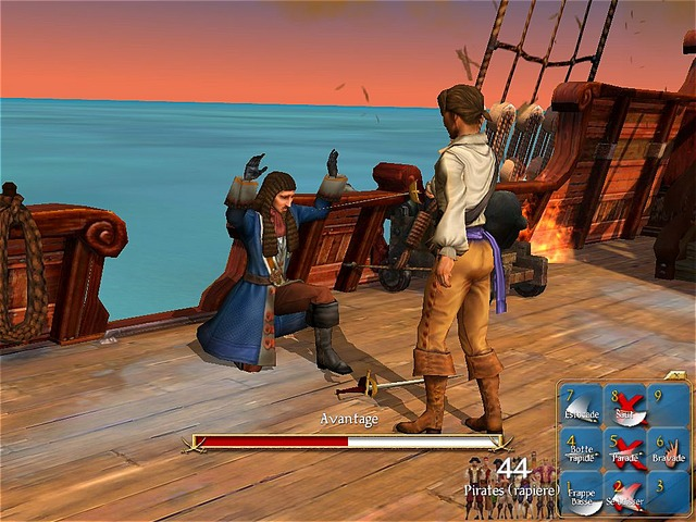 Sid Meiers Pirates Screenshot