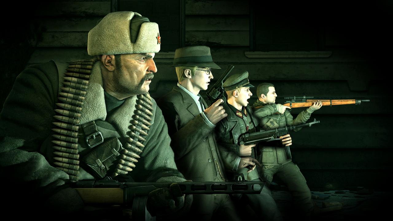 Sniper Elite Nazi Zombie Army FLT