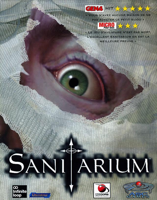 jeux sanitarium