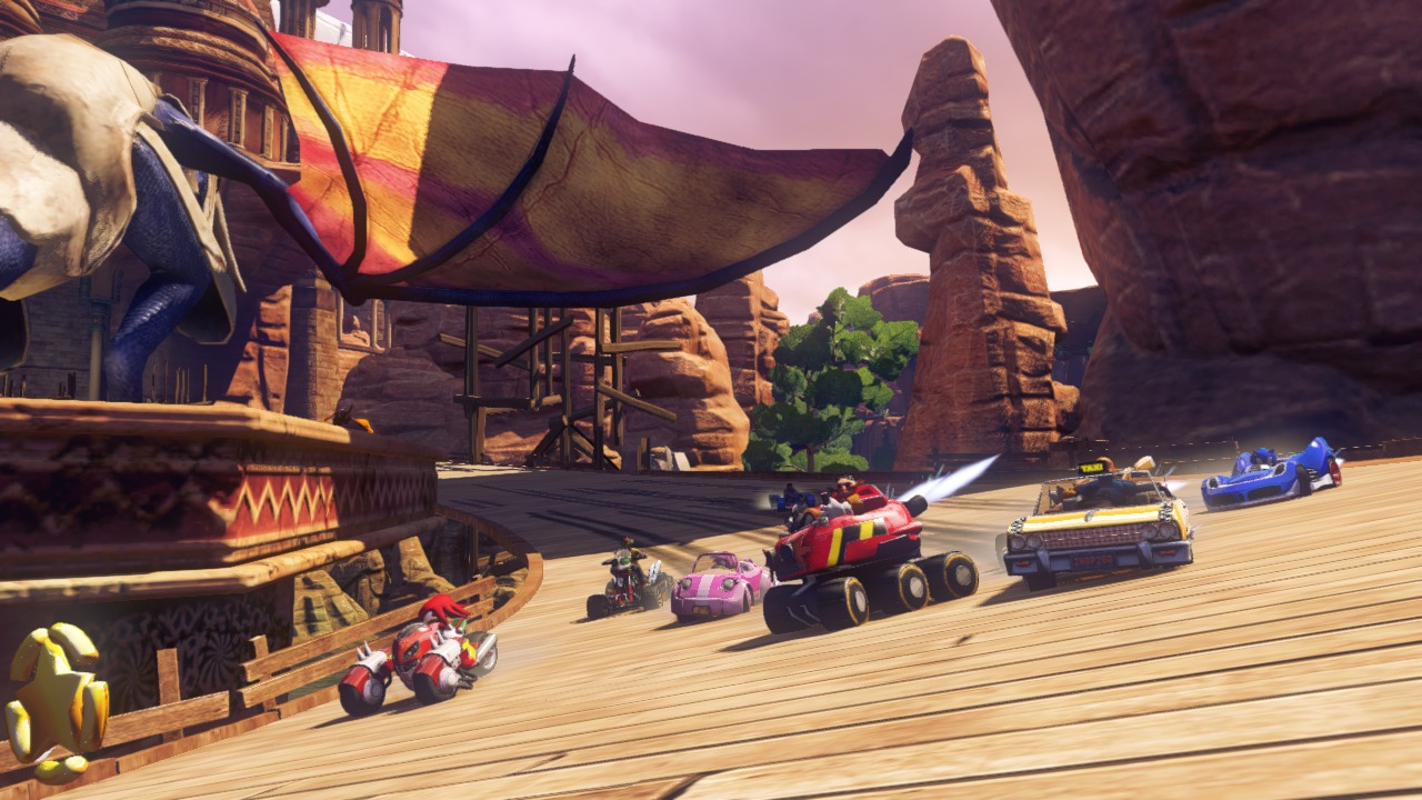 Sonic and All Stars Racing Transformed RELOADED