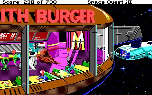 Images Space Quest 3 : The Pirates of Pestulon PC - 8