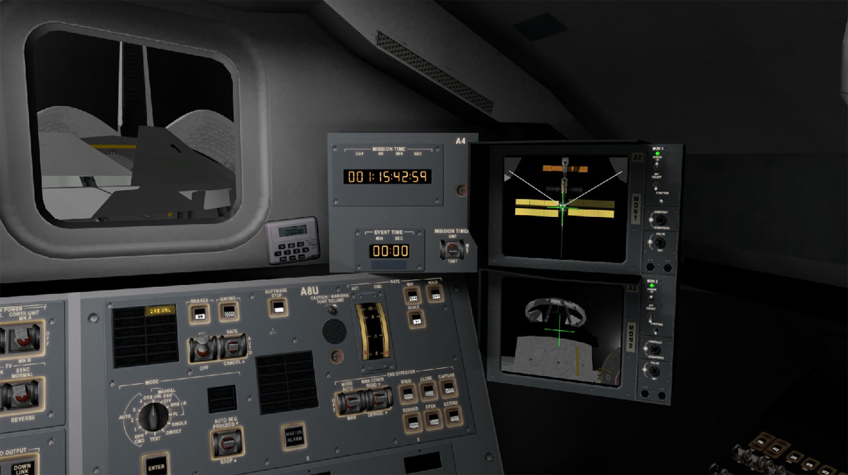 space shuttle mission simulator - photo #3