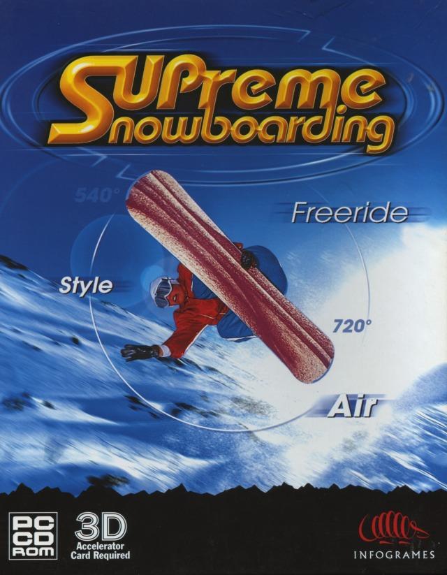 Supreme Snowboarding(Boarder Zone) [ENG]