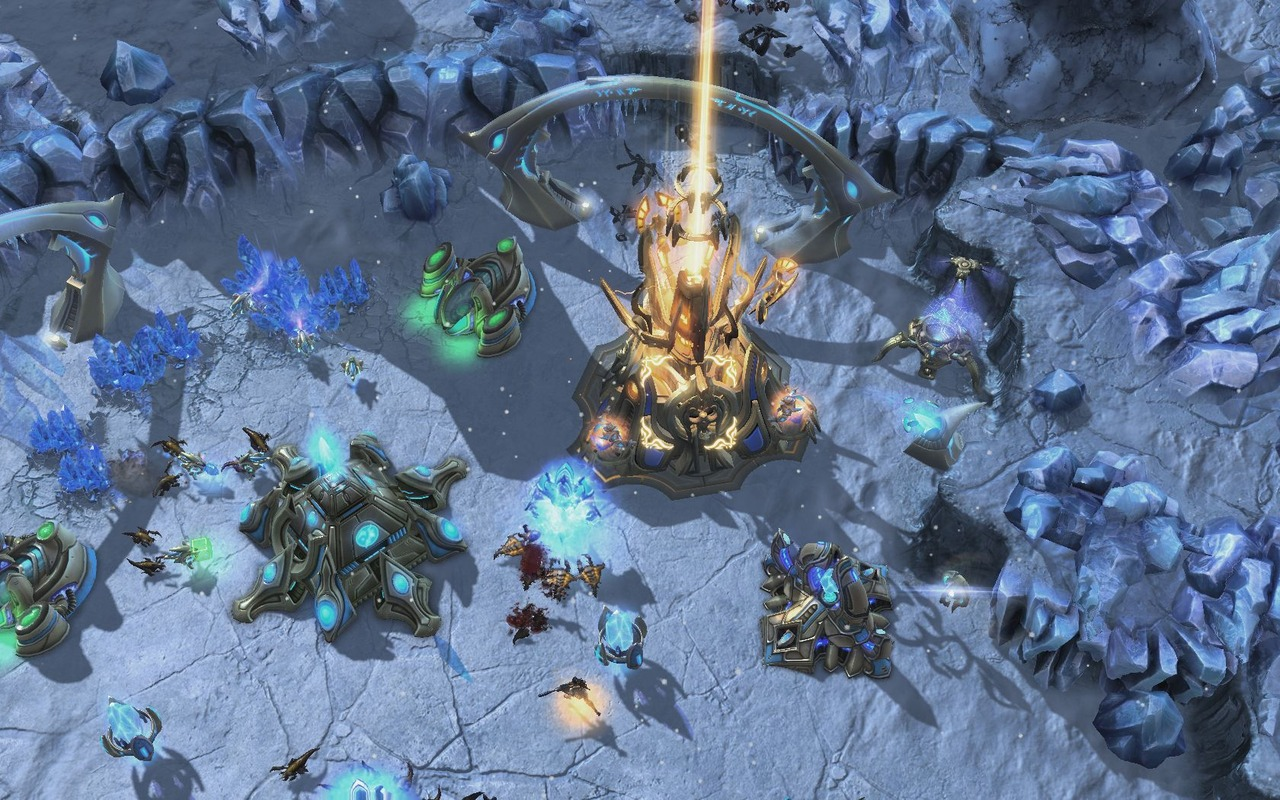StarCraft II Heart of the Swarm FLT