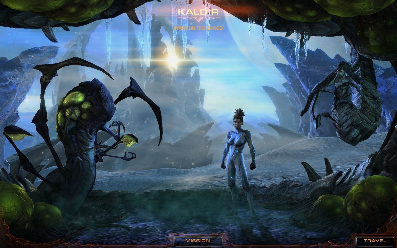 StarCraft II Heart of the Swarm Proper RELOADED