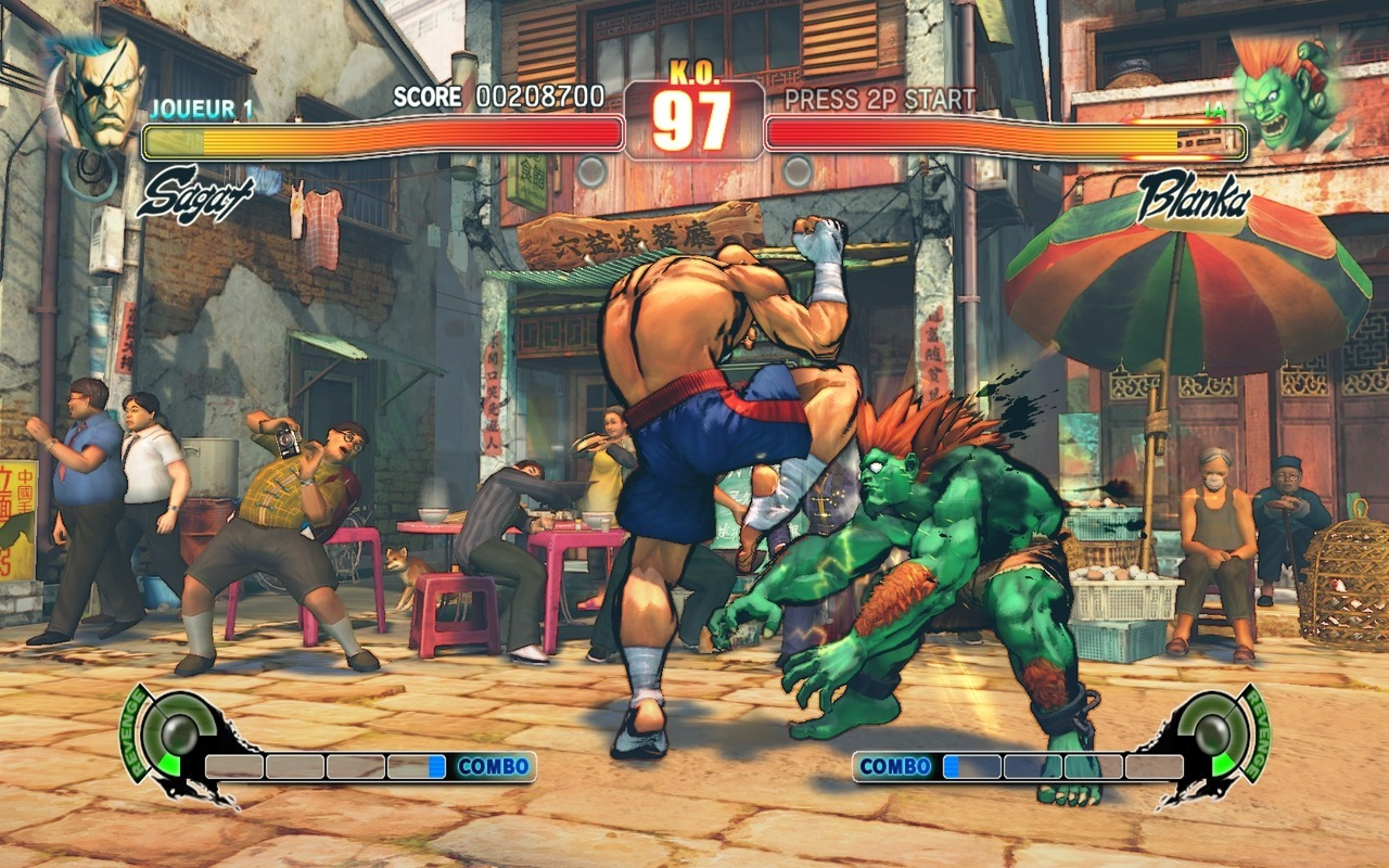Street Fighter IV PC  ( 4 lien 950 + 1 lien 680 mo) MU