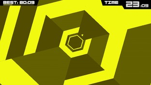 Super Hexagon de sortie sur Steam