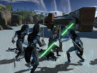 Star Wars : Knights of the Old Republic sur iPad