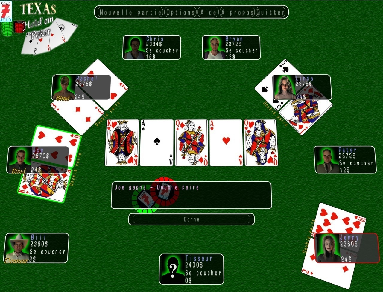 Télé 7 Jeux : Texas Hold'em Poker