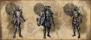 Quelques armures de The Elder Scrolls Online
