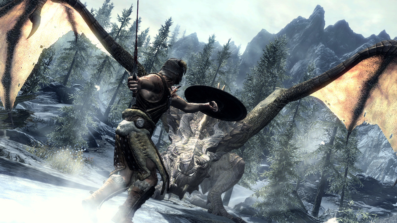 The Elder Scrolls V Skyrim Update 5 RELOADED