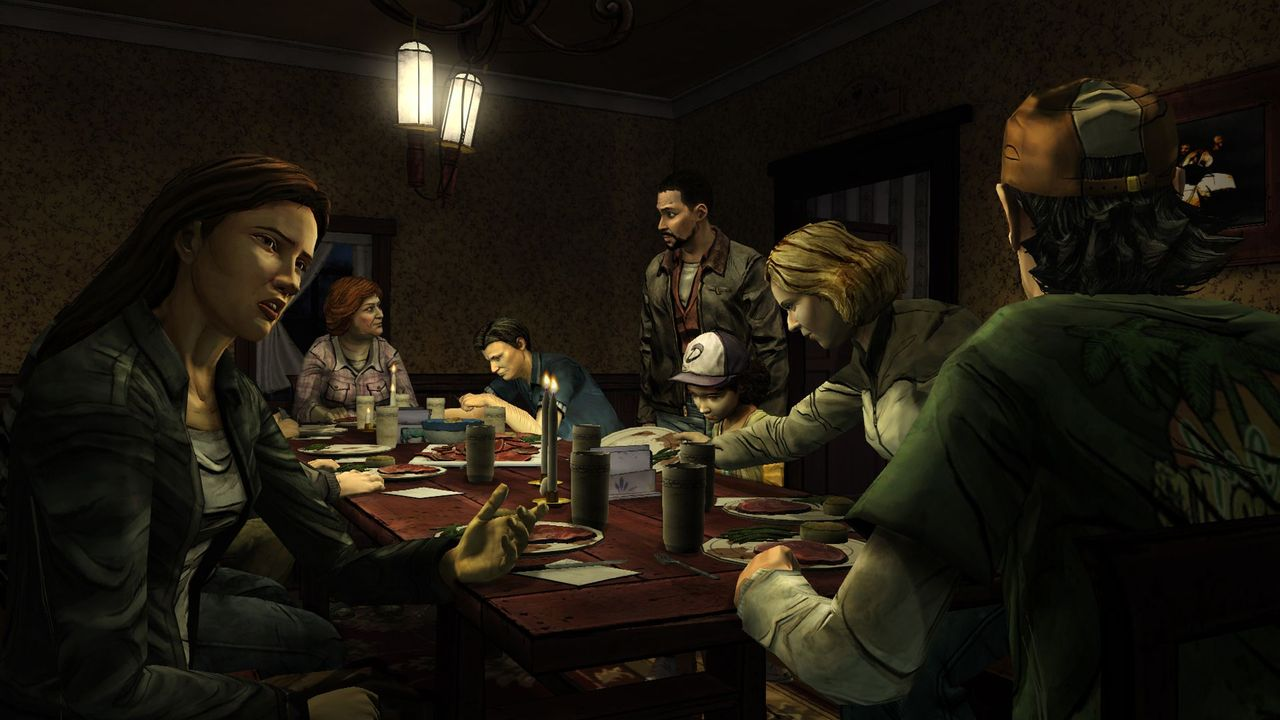 ��������  The Walking Dead:The Game episode 1,2