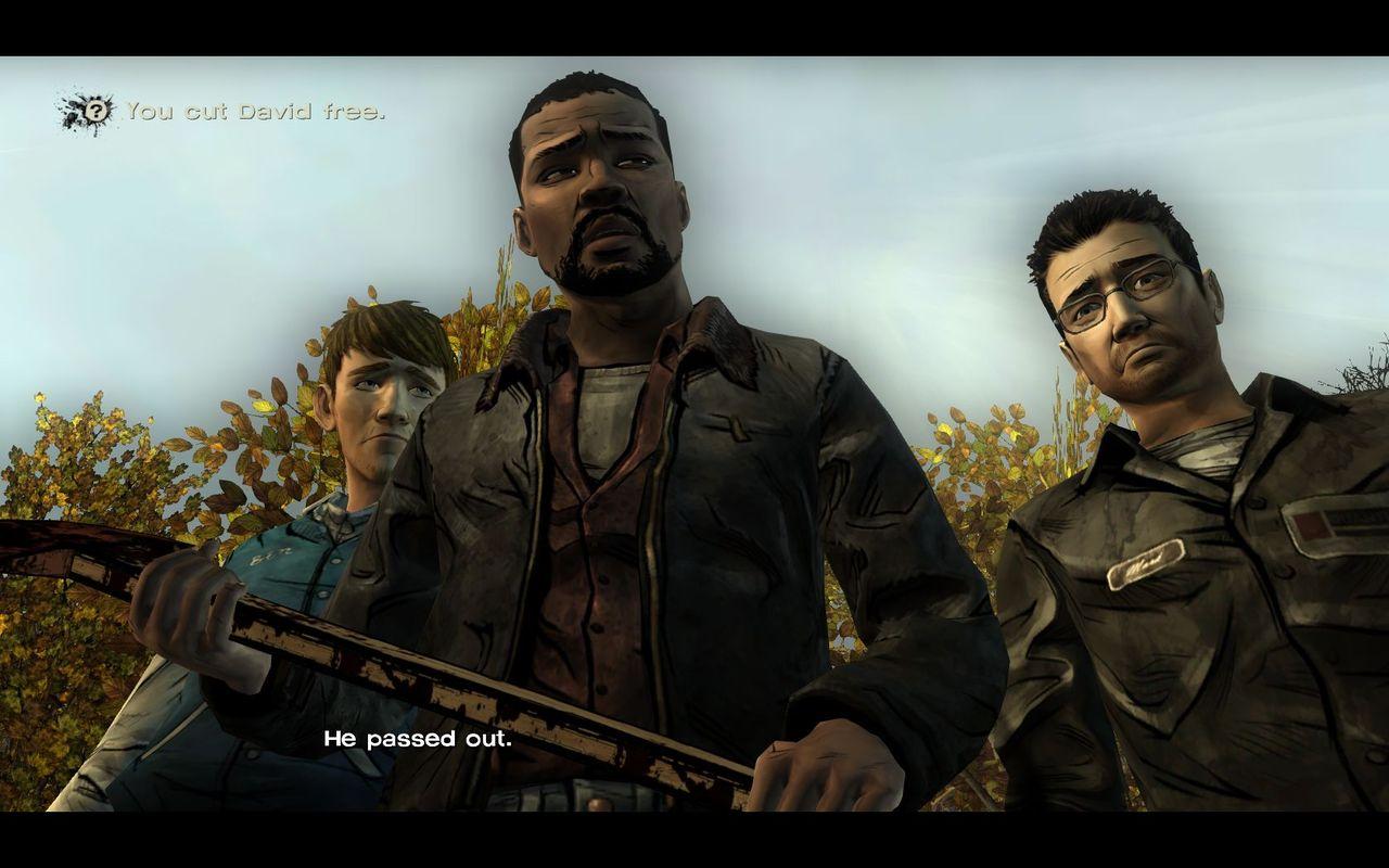 العملاقة  The Walking Dead:The Game episode 1,2