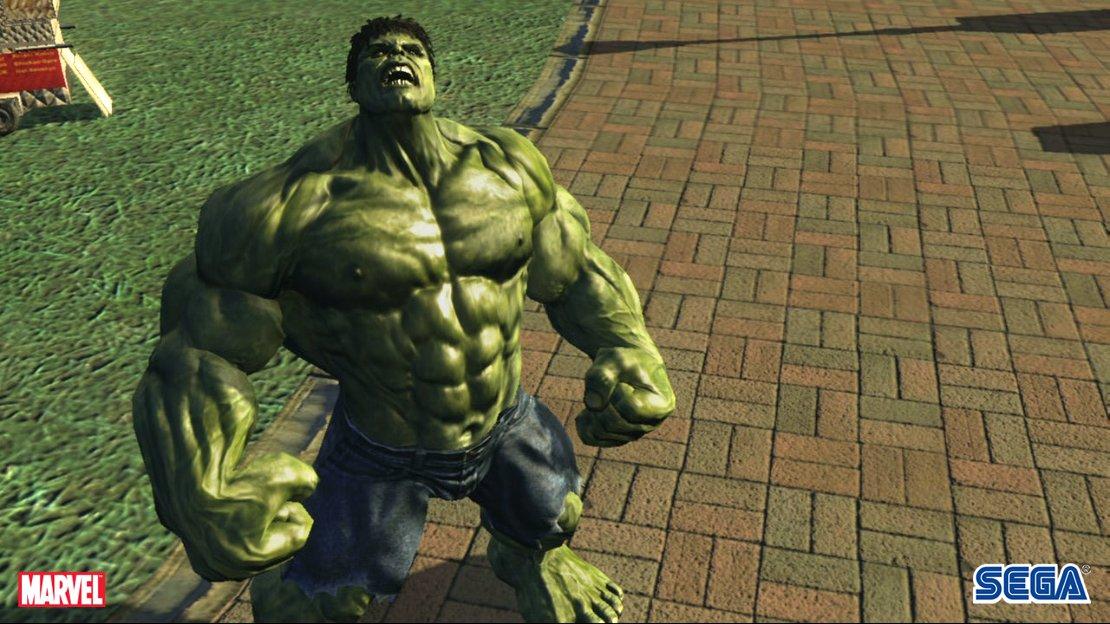 اللعبة الرائعة والمشوقة the incredible hulk بحجم صغير ورابط واحد ( الوحش الاخضر)