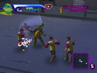Test Teenage Mutant Ninja Turtles PC - Screenshot 10