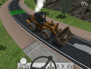 Test Travaux Routiers Simulator 2011 PC - Screenshot 4