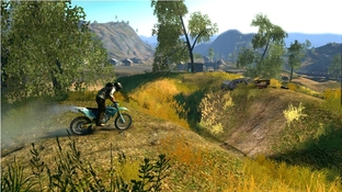 Trials Evolution en mars sur PC