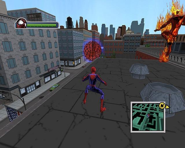 لعبة المغامرات والاكشن الرائعة Ultimate Spider Man بحجم 420 Mb Ulsmpc029