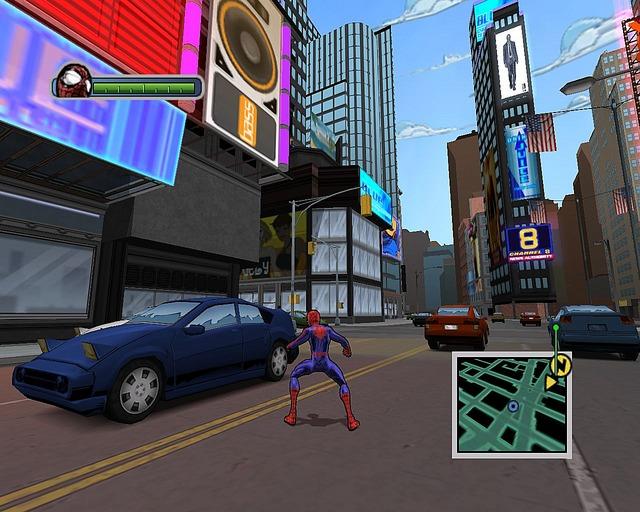 لعبة المغامرات والاكشن الرائعة Ultimate Spider Man بحجم 420 Mb Ulsmpc041