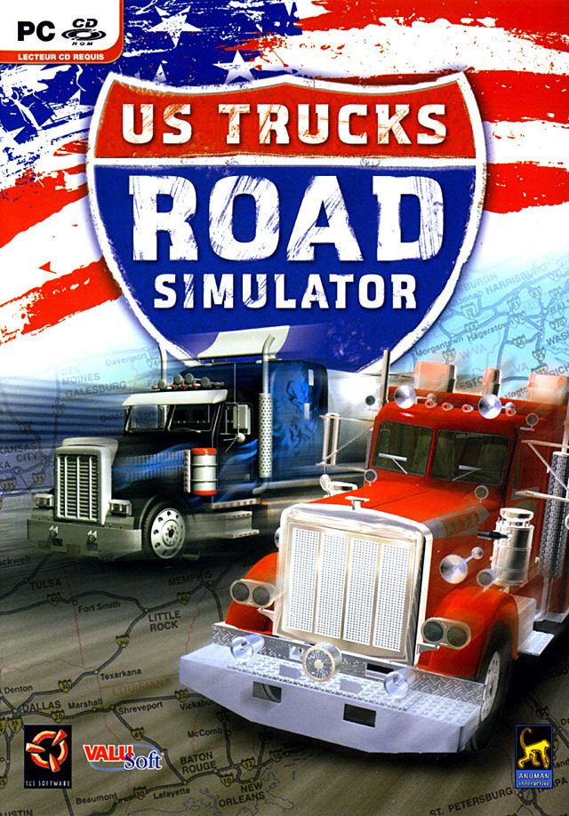 us trucks road simulator sur pc. Black Bedroom Furniture Sets. Home Design Ideas