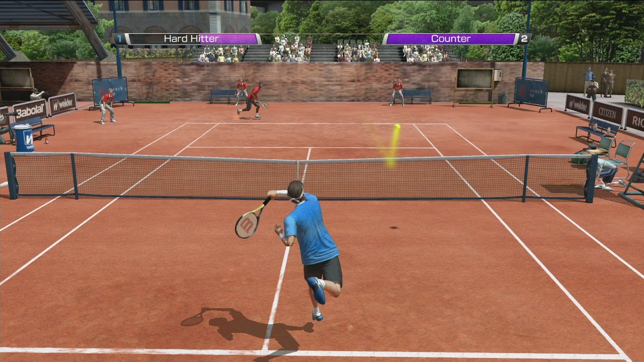 real online tennis game