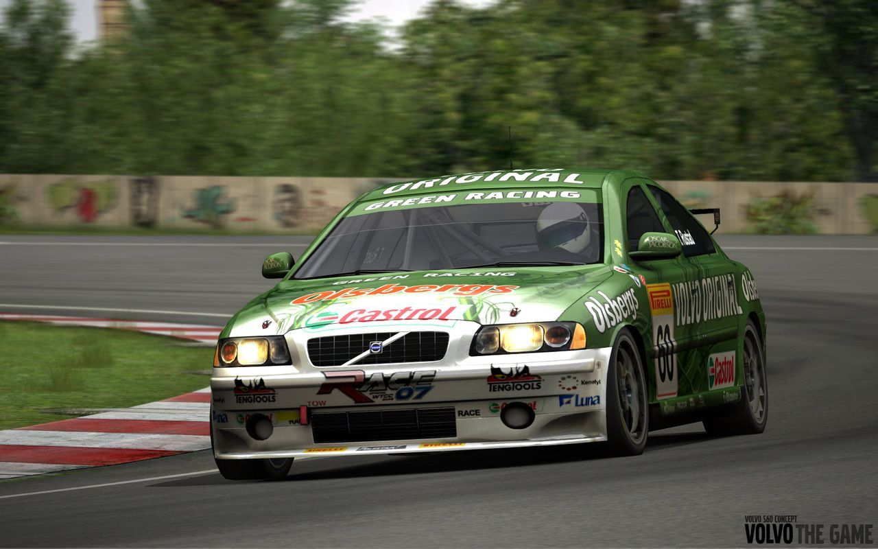 Volvo S60 Racing Game