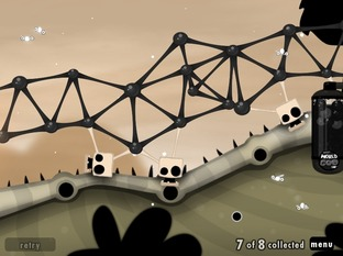 World of Goo marche fort sur iPad
