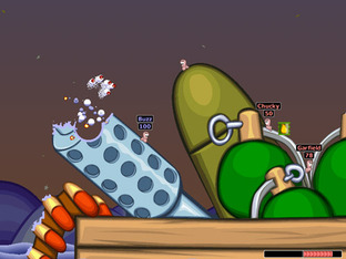 Test Worms Armageddon PC - Screenshot 2