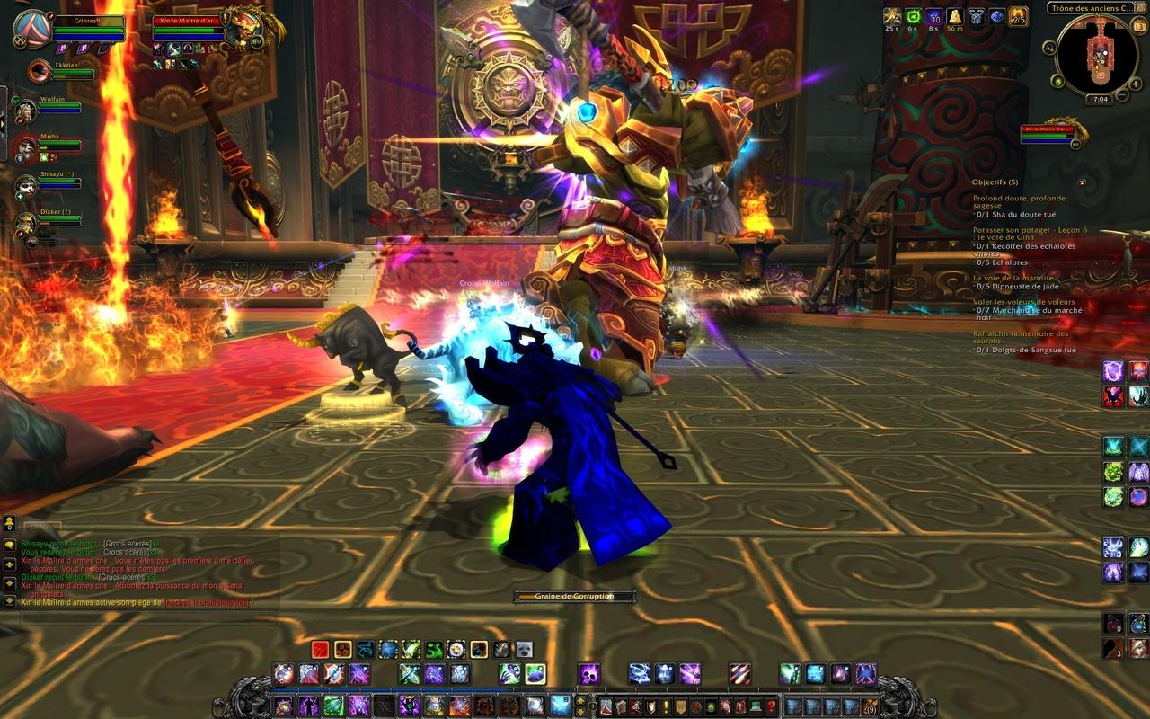 World of Warcraft : Le patch 5.3 ce mercredi Malgré la perte récente de plu